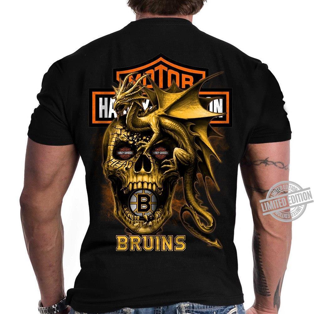 Harley-Davidson Motorcycles Bruins Shirt