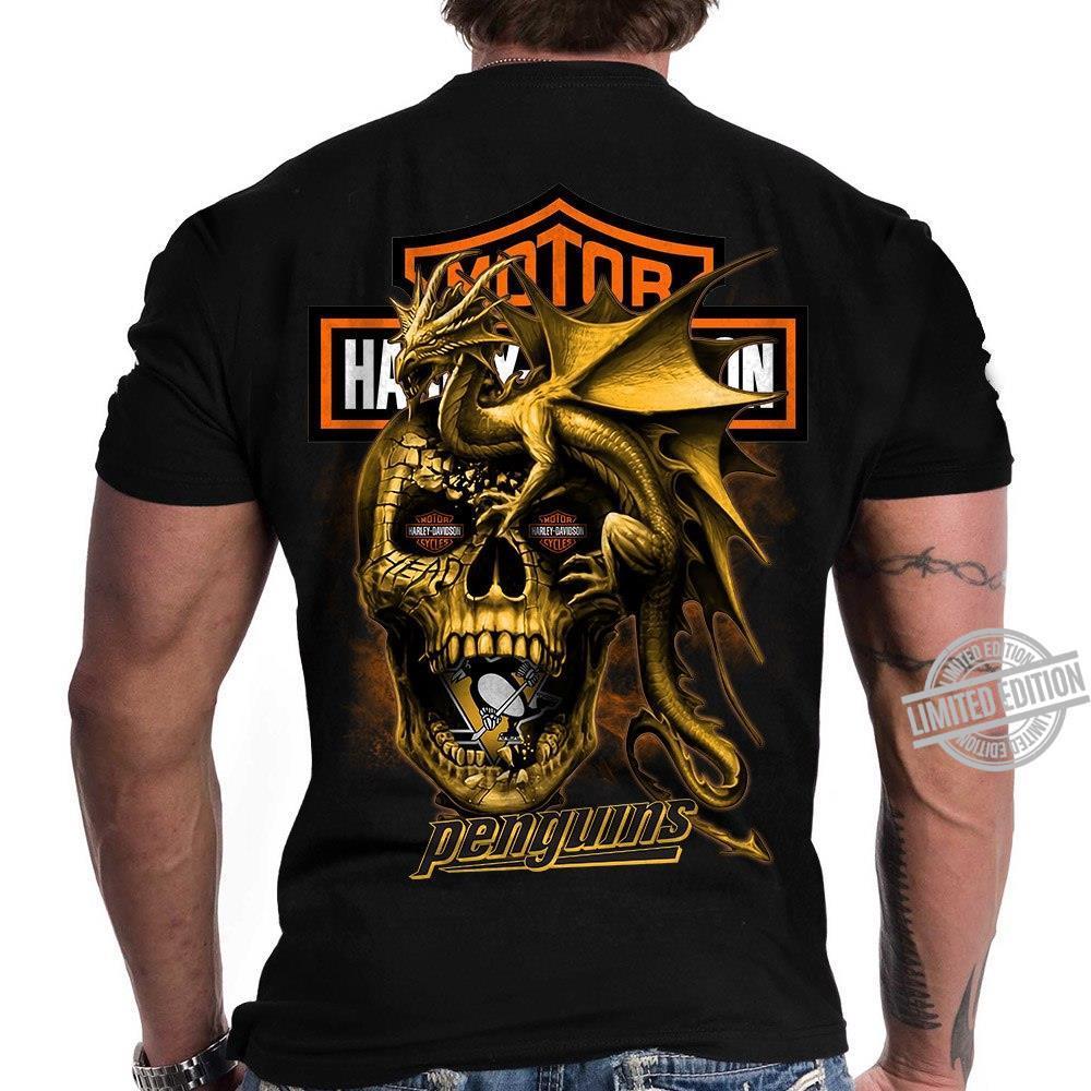 Harley-Davidson Motorcycles Penguins Shirt