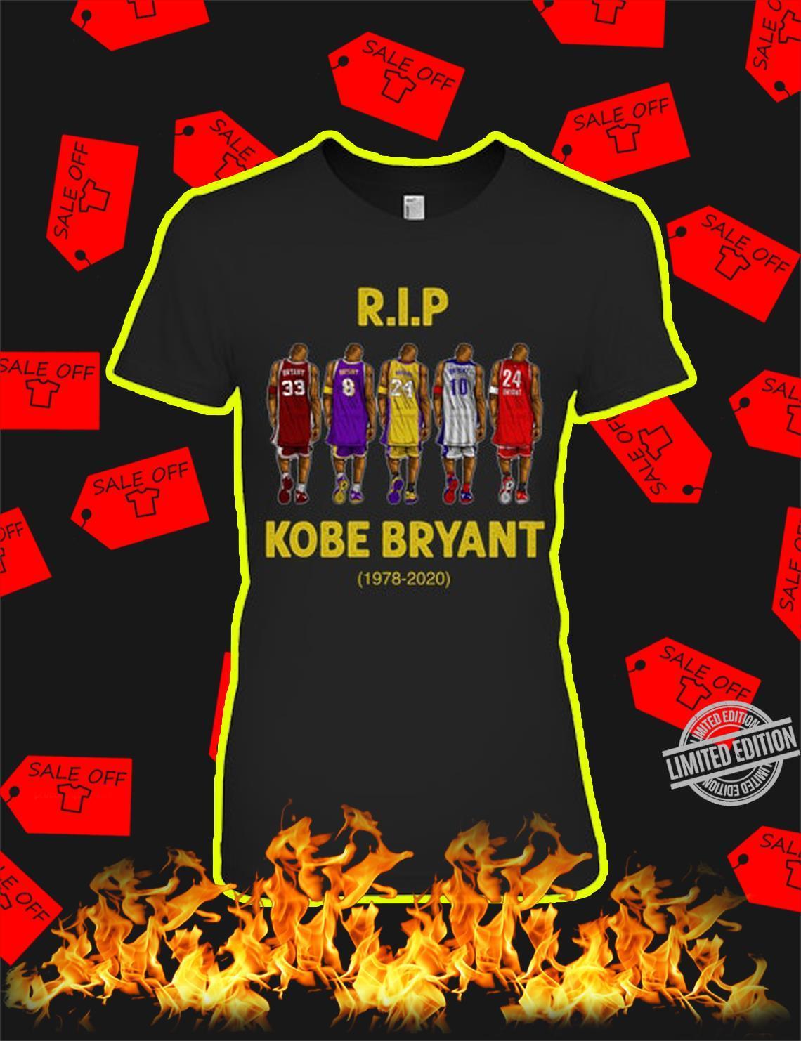 Iteeres-Legend Jordan Lebron James RIP Kobe King 1978-2020 Shirt